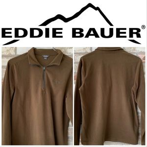 Medium Eddie Bauer 1/4 Zip Fleece Top